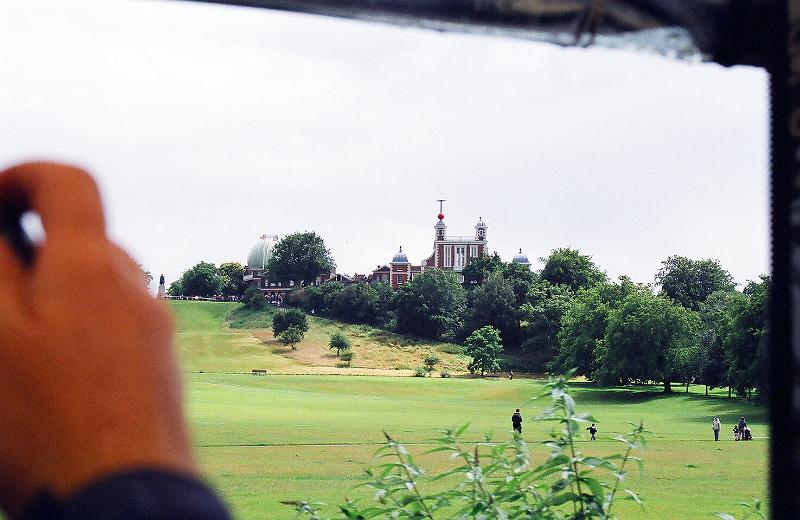 Royal Observatory, from motor tram