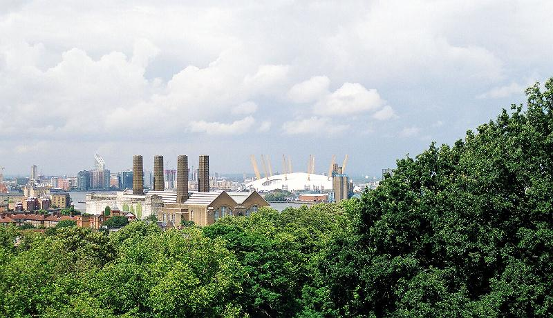 Millennium Dome and Greenwich