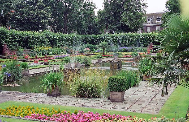 Kensington Palace garden, Hyde Park