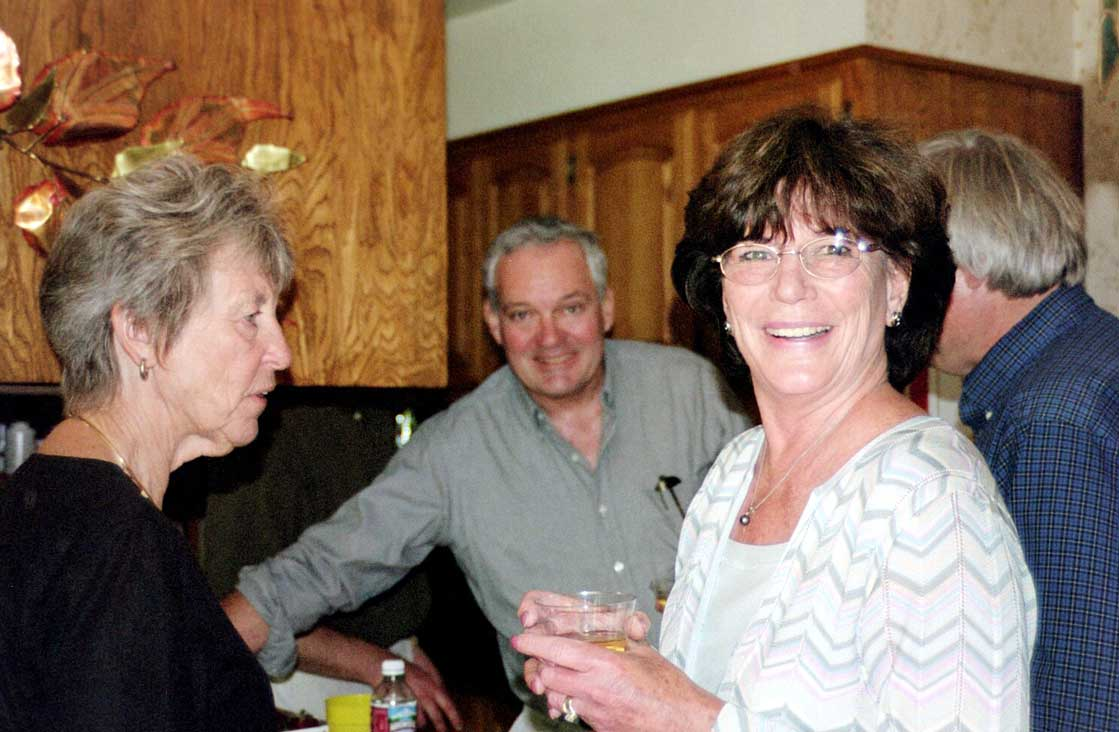 Don and Marge Hitzl and friend