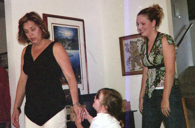 Kathy Toch, Haley, friend