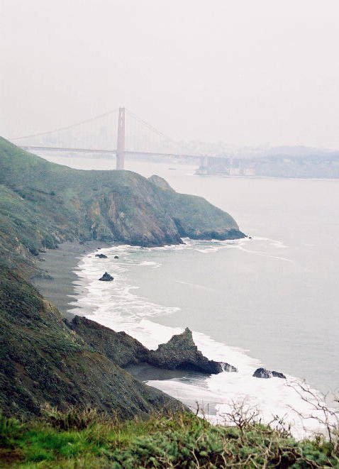 Outside the Golden Gate