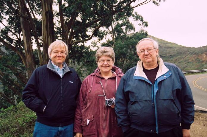 Jim, Sally, and Bill Ringland