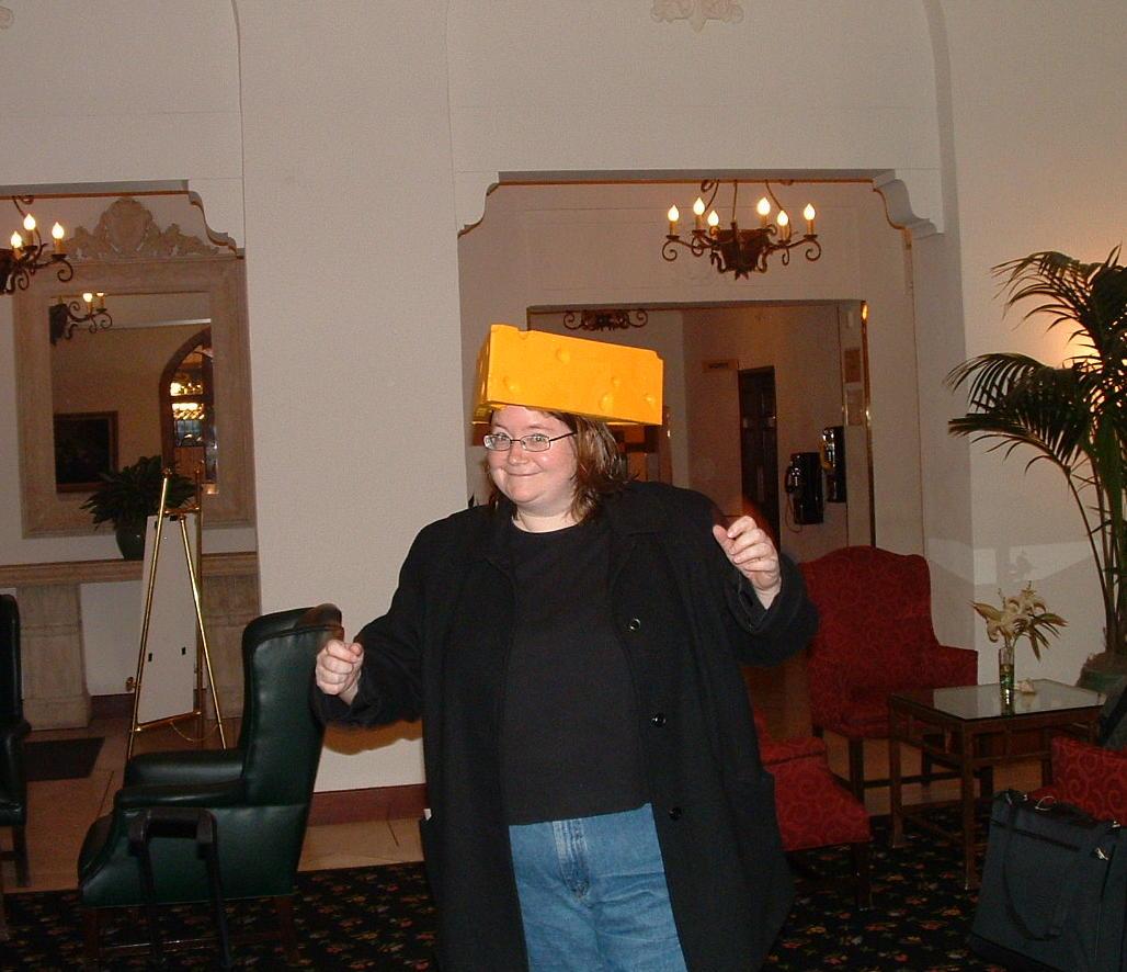 Kristin the Cheesehead